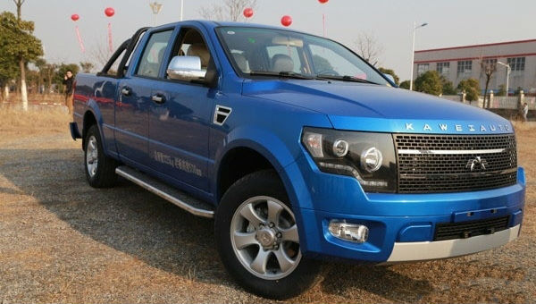 Kawei K1 Pickup is Chinese Copy of Ford F-150