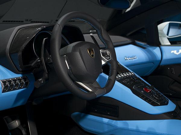 Lamborghini Aventador Interiors