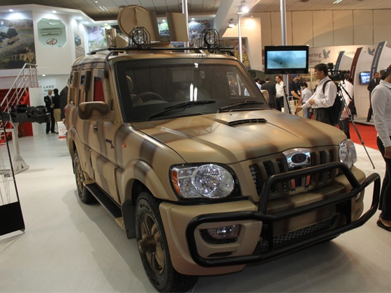 Bulletproof Mahindra Scorpio Available in India