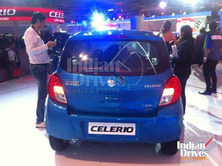 Maruti Celerio Back View