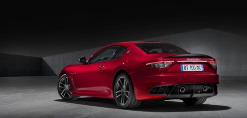 Maserati GranTurismo Back View