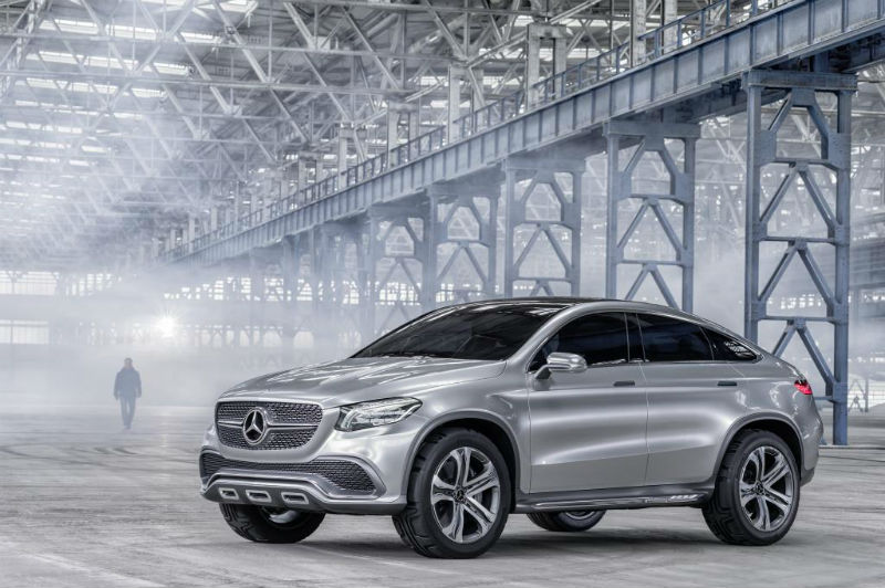 Mercedes Benz Concept Coupe SUV 2014