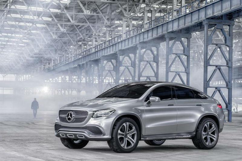 Mercedes Benz Concept Coupe SUV 2014