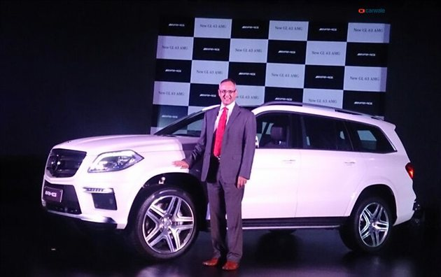 Mercedes-Benz GL63 AMG launched in India