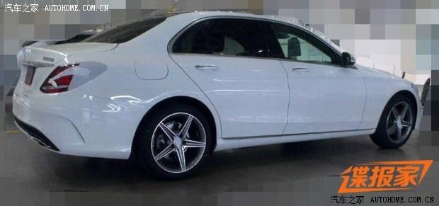 Mercedes-Benz M-Class spy shot