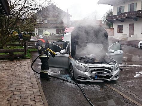 Mercedes benz s class catches