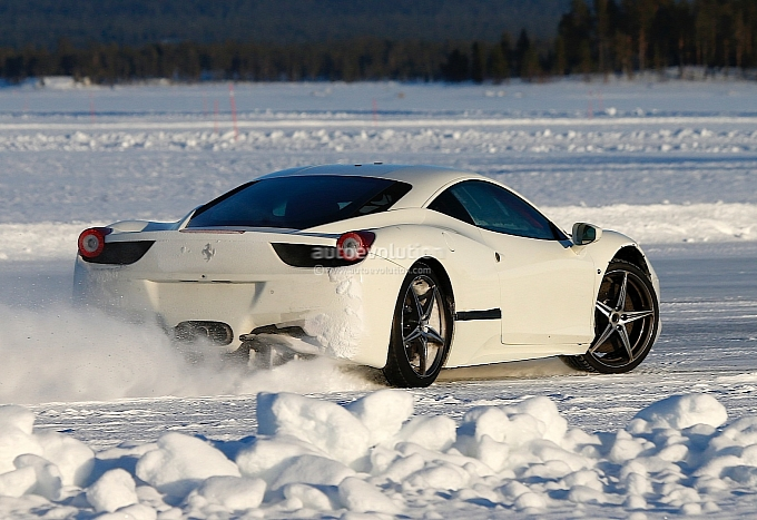 New Ferrari 458 Replacement Spotted