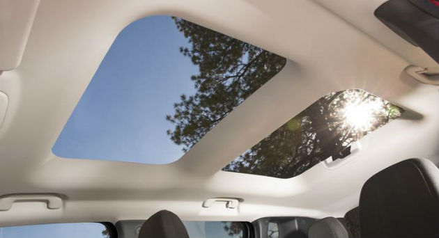 New Jeep Renegade Sky Roof