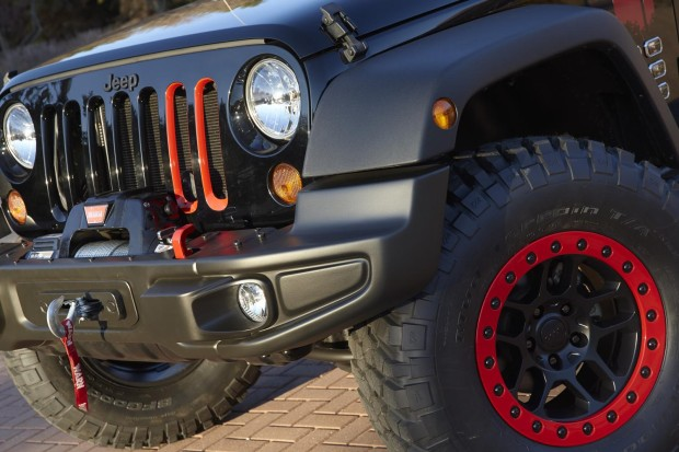 New Jeep Wrangler Level Red