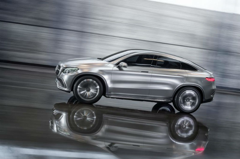 New Mercedes Benz Concept Coupe SUV