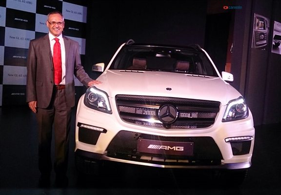 New Mercedes-Benz GL63 AMG