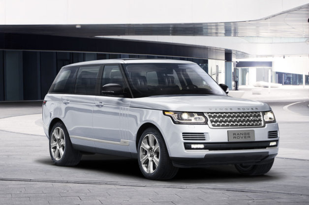 New Range Rover Hybrid Long Wheelbase