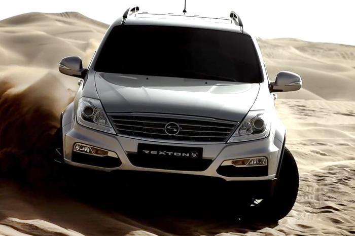 New SsangYong Rexton RX6 in Development