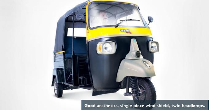 Piaggio Diesel Autorickshaw