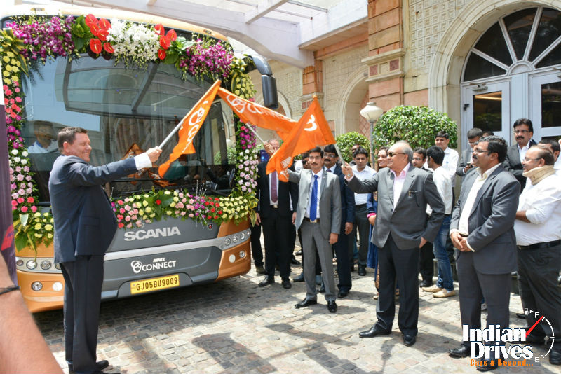Scania flags off SVLL Connect in Mumbai