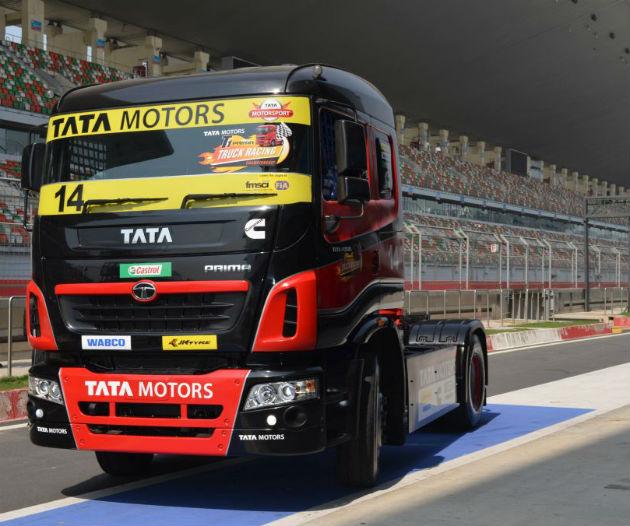 Tata Motors Prima Truck Racing