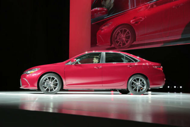 Toyota Camry Auto Show at New York