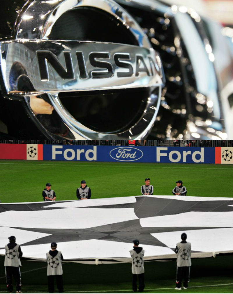 Nissan to replace Ford as Champions League soccer sponsor