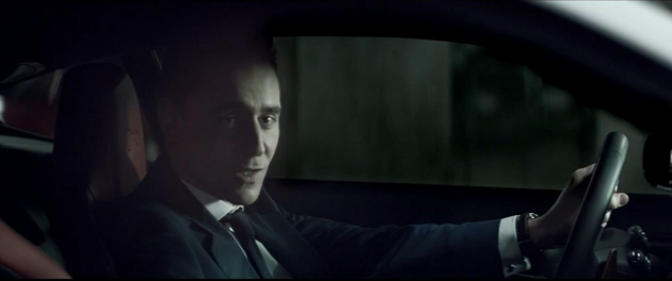 F-Type Coupe is for Villains, says Tom Hiddleston in Jaguar's