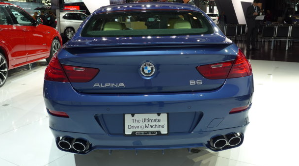 2015 BMW Alpina B6 xDrive Gran Coupe Back View