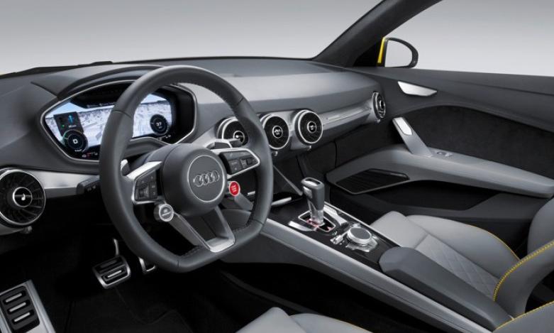Audi TT Offroad Concept interiors