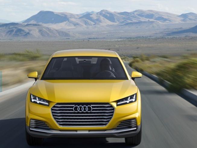 New Audi TT Offroad Concept