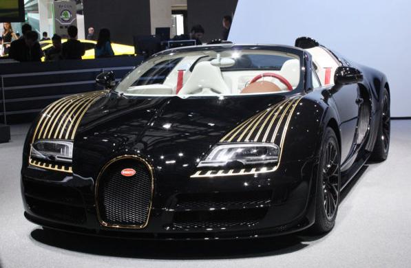 Veyron 16.4 Grand Sport Vitesse1 Black Bess
