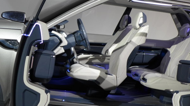 Land Rover Discovery Vision interiors