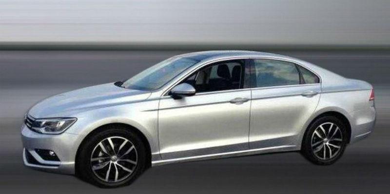 Volkswagen NMC Sport Sedan Spotted