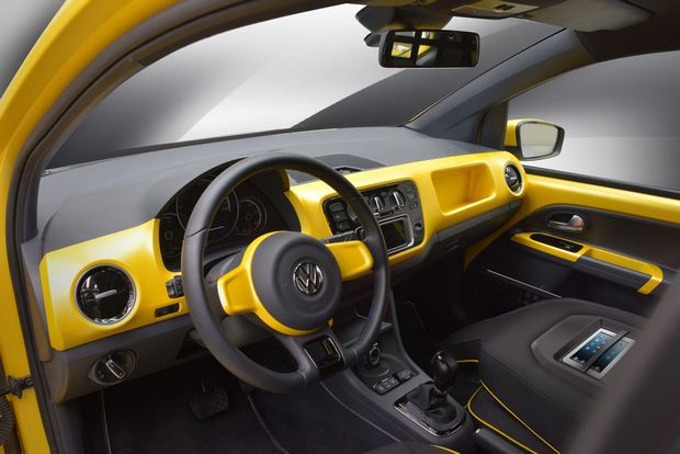 Volkswagen e-load Up Interiors