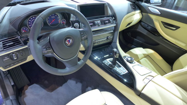 2015 BMW Alpina B6 xDrive Gran Coupe Interiors
