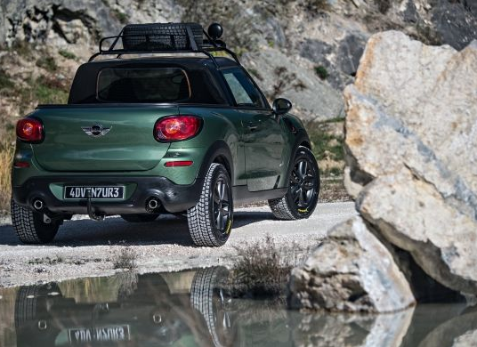 Mini Paceman Adventure Back View