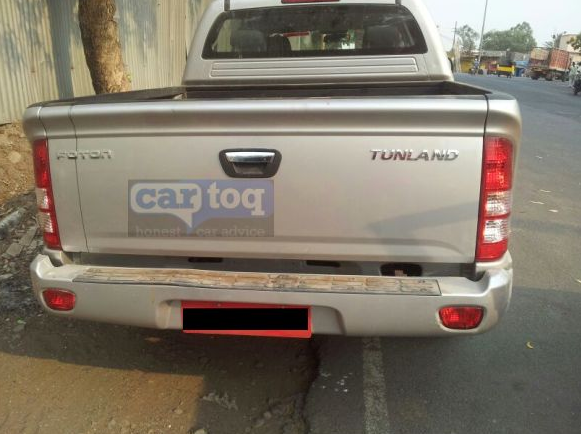 Foton Tunland Pickup Spy Pic Back View