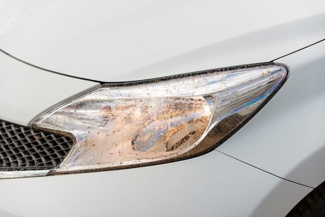 Nissan Develops First Self-Cleaning