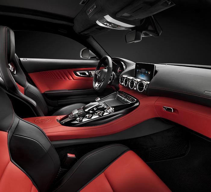 Mercedes-AMG GT interiors