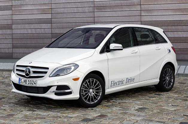 2014 Mercedes Benz B-Class Electric Drive
