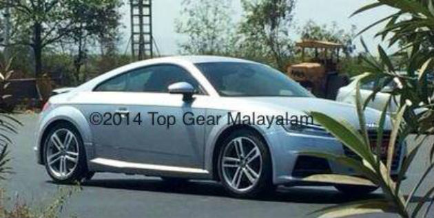 2015 Audi TT Spotted in India for First Time