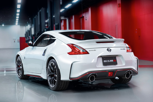 2015 Nissan 370Z Nismo Back View