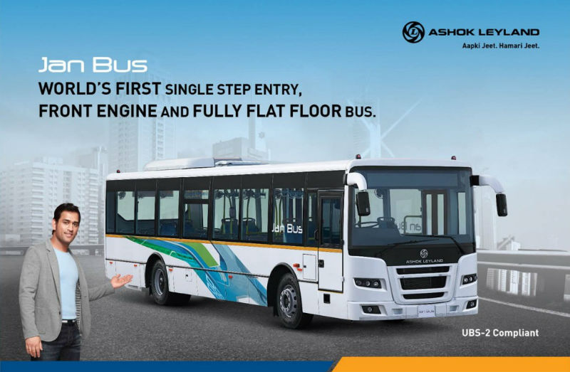 Ashok Leyland Jan Bus Launched in India