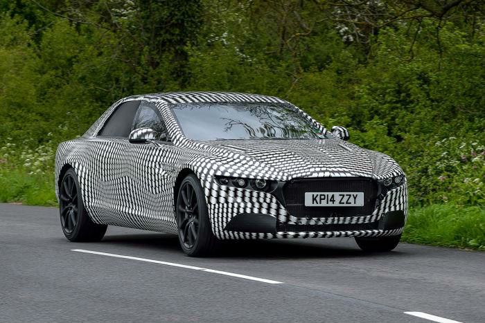 Aston Martin Spotted Testing