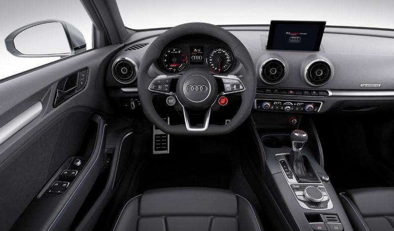 Audi A3 Clubsport Quattro Interior