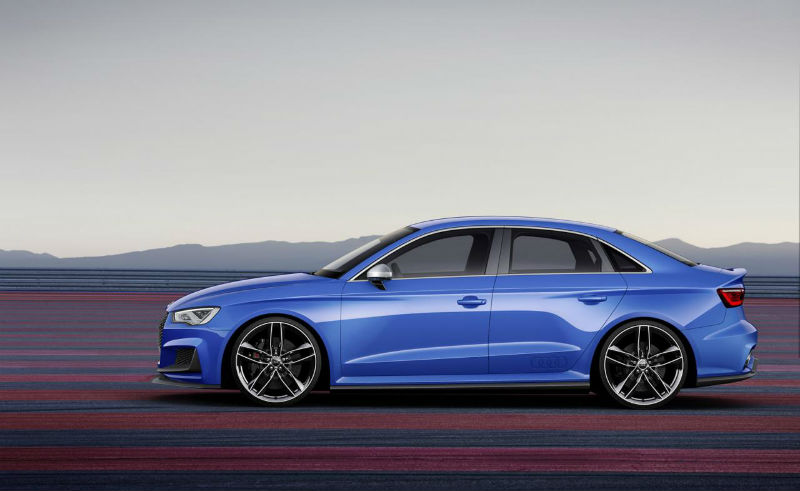 Audi A3 Clubsport Quattro side view