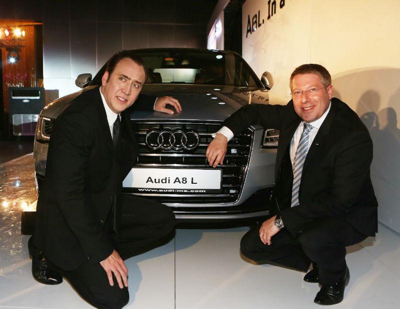 Audi A8L facelift