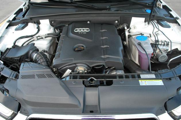 Audi Engine view