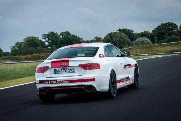 Audi RS5 TDI Coupe concept Back View