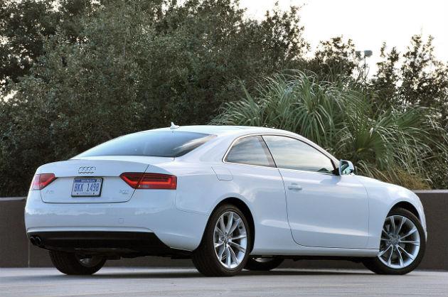 Audi back view