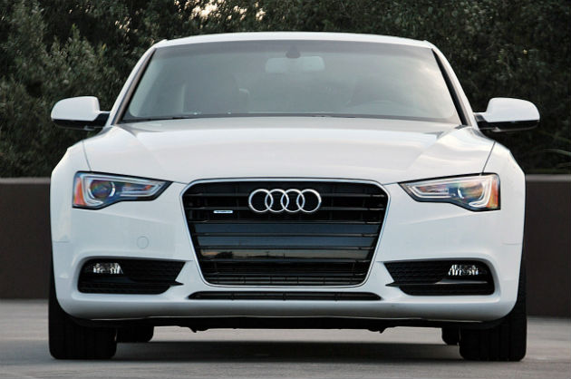 Audi front view