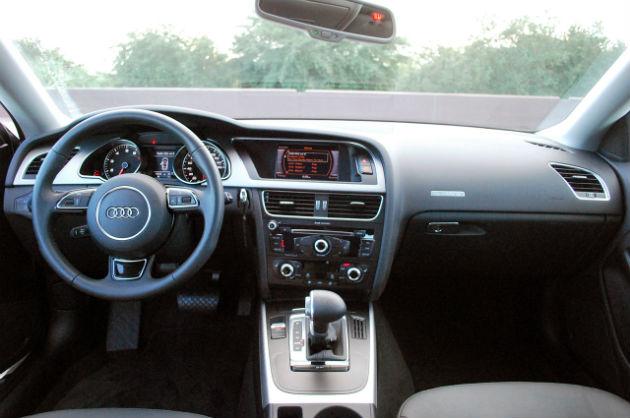 Audi interior view