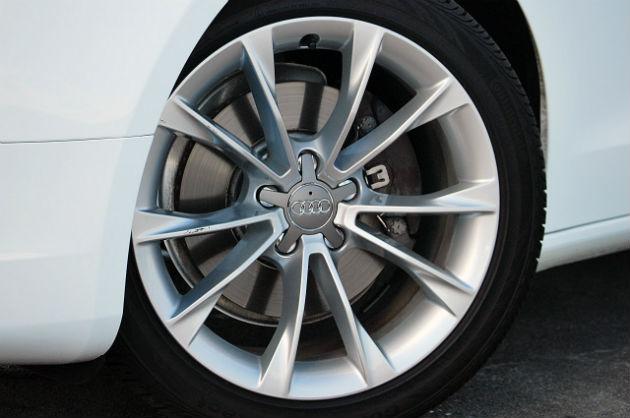Audi wheel view
