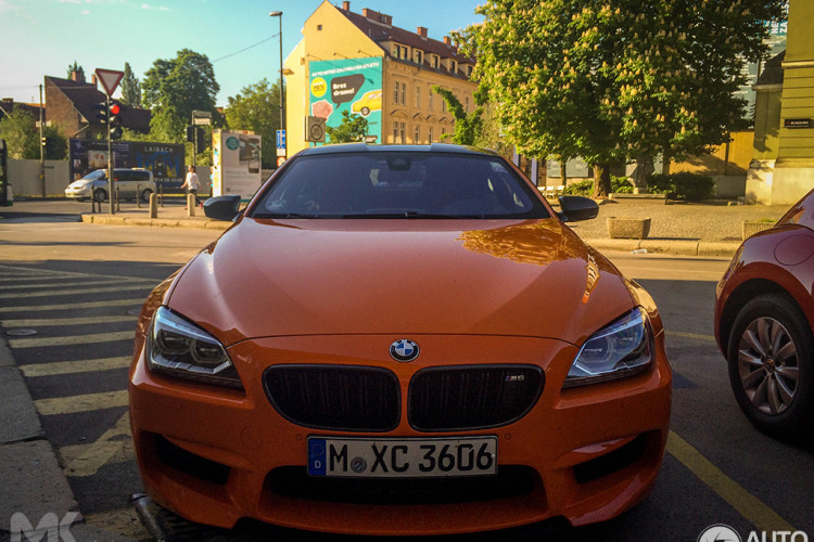 Charmant BMW M6 Coupe